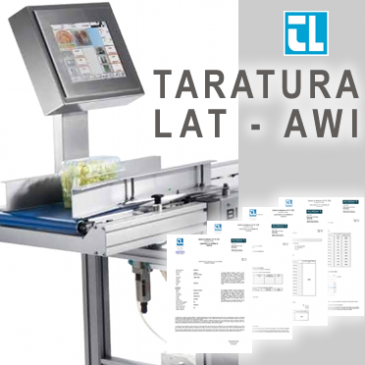 TARATURA LAT – AWI (Automatic Weighing Instrument)
